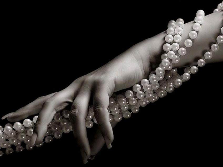 «Не совсем камни»: жемчуг и перламутр